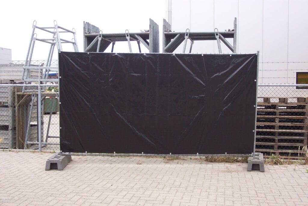 Bâche de protection de clôture